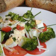 Brokolicový salát s vejci recept