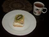 Tvarohový koláč s kiwi recept