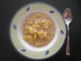 Pórková polévka s vločkama recept