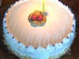 Dortík k 1. výročí  nepečený jablkový dort recept