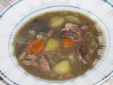 Sytá uzená polévka recept