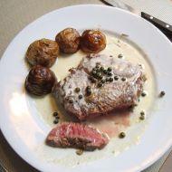 Pepřová omáčka na steaky recept