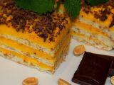 Arašídové řezy se žloutkovým krémem recept