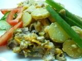 Panenka na houbách a zelenině recept