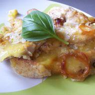 Zapékané kuřecí s brambory a bazalkou recept