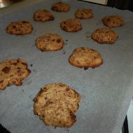 Celozrnné cookies recept