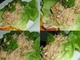 Salát z uzené makrely recept