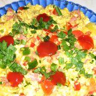 Vaječná rychlovka s česnekem recept