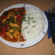 Kuřecí směs s rýží basmati recept