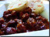 Hovězí guláš z lorny recept