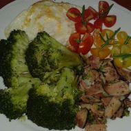 Dušená brokolice se slaninou recept