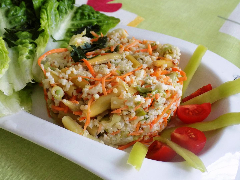 Jáhly se zeleninou a mozzarellou recept