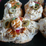Rychlá pomazánka z vajec a tuňáka recept