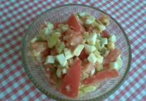 Rajský salát  light