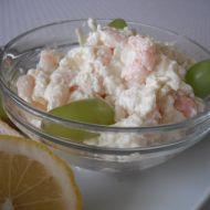 Sýrová pomazánka s krevetami recept