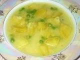 Hrášková polévka s jogurtem recept