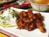 Wok  pražené zázvorové kuře recept