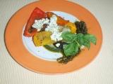 Pečená zelenina s bazalkovo-sýrovou omáčkou recept ...