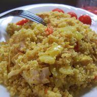 Zeleninový kuskus s kuřecím recept