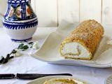 Arašídová roláda se šlehačkou recept