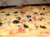 Domácí pizza z žitného kvásku recept