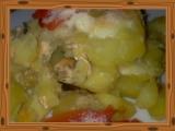 Zapékané brambory s tvarohem a sýrem recept