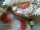 Česneková pomazánka z tvrdých sýrů recept
