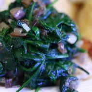 Rychlý listový špenát recept
