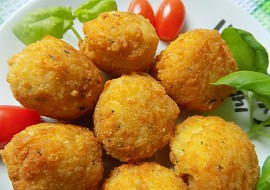 Rýžové krokety se sýrem recept