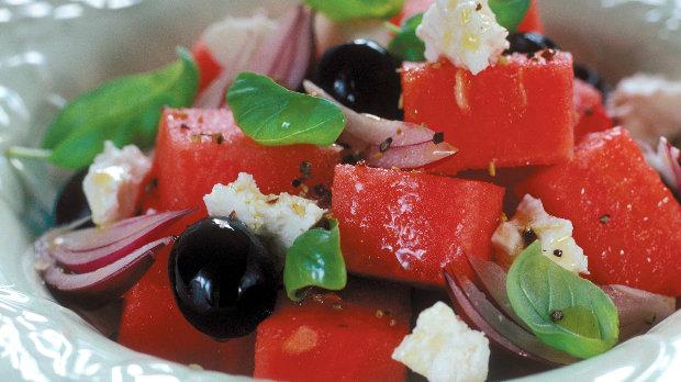 Osvěžující melounový salát