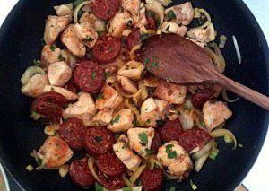 Paella bez mořských potvor recept