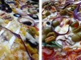 Žampionová a hermelínová pizza recept