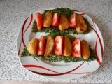 Špenátová placka s islandskými brambory recept