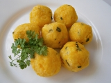 Noky(špecle)knedlíčky-bramborovo dýňové recept