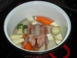 Holubí polévka recept
