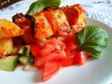 Bramborové špízy s klobásou a ostrou zeleninou recept ...