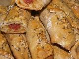 Uzenina v chlebovém těstě recept