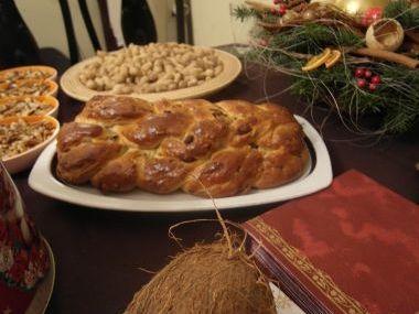 Vánočka  původní recept kolem r. 1850
