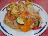 Kuře na zelenině recept
