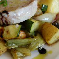 Pečená jarní zelenina recept