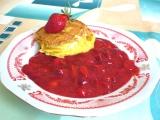 Smažený Hermelín s jahodovou omáčkou recept