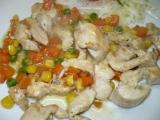 Kuřecí nudličky po zahradnicku recept