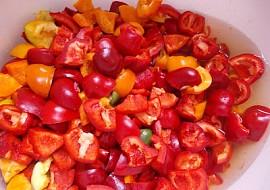Papriky na zimu  Papryka na zimę recept