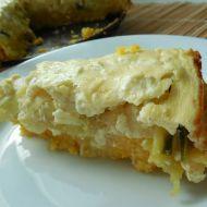 Slaný polentový koláč s cuketou recept