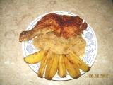 Moje kuře na zelí recept