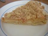 Krémový koláč s hruškami recept