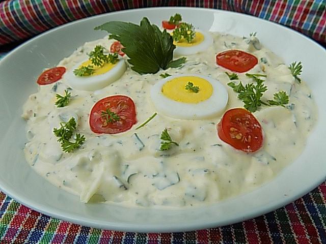 Libečková pomazánka s vejci recept