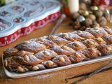 Veganská vánočka s mandlemi recept