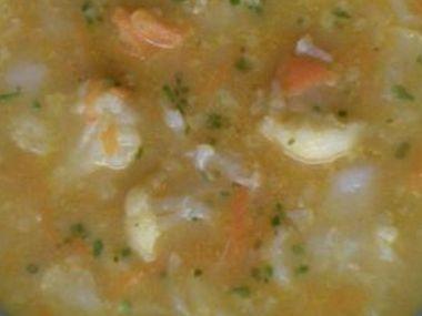 Lehká květáková polévka