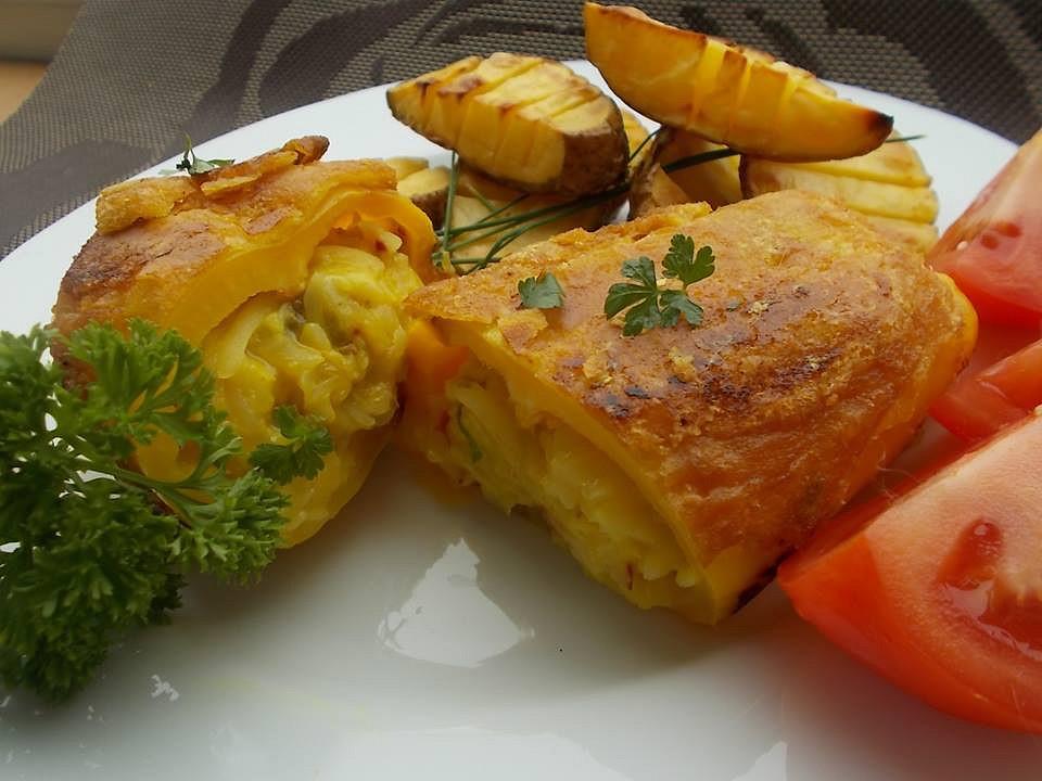 Smažené papriky, plněné nádivkou z romadurů recept  TopRecepty ...